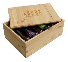 Dárková bedna s vínem 12 vín Vinařství Kraus