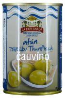 Zelené olivy s tuňákem 280g La Explanada