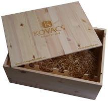 Bedna na 12 vín Vinařství Kovacs s logem