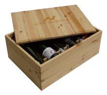 Dárková bedna s vínem 12 vín Nové Vinařství