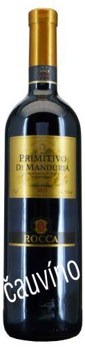 Primitivo Di Manduria Angello Rocca 2013 DOC Vendemmia Itálie 0,75 lsuché