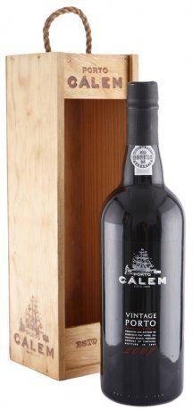 10 let staré portské víno 2007 Cálem Vintage 0,75 l