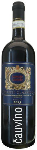 Chianti Classico Lamole Di Lamole 0,75 l Raccolto Itálie suché