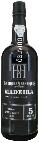 Madeira 5 Years Old Finest Full Rich 19% alk. 0,75l
