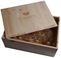 Bedna na 12 vín Vinařství Lahofer s logem