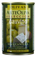 Zelené olivy s modrým sýrem 300g Arte Oliva