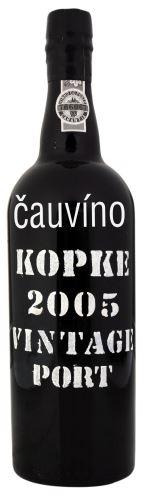 12 let staré portské víno 2005 Kopke Vintage 0,75l