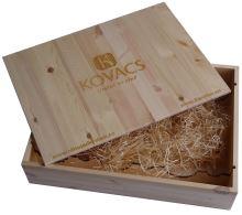 Bedna na 6 vín Vinařství Kovacs s logem