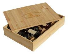 Dárková bedna s vínem 6 vín Vinofol Novosedly
