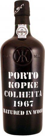 50 let staré portské víno 1967 Kopke Colheita 0,75 l
