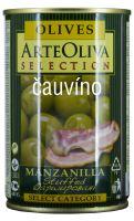 Zelené olivy se slaninou 300g Arte Oliva